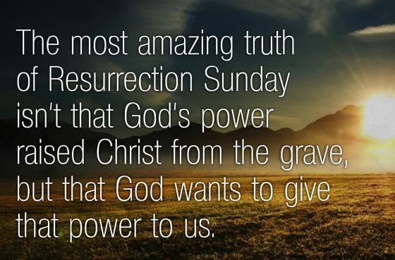 Resurrection Sunday Power